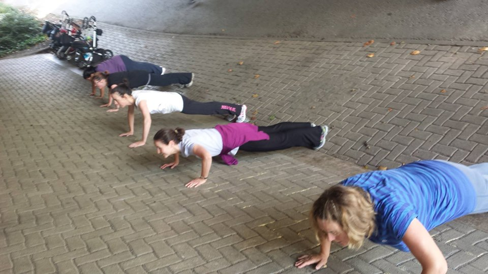 Baby Buggy Boot camp image