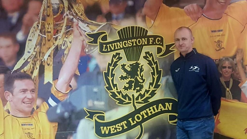 West Lothian Youth Foundation Development Manager Scott Millar.