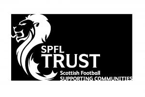 spfl trust logo + strap med_white